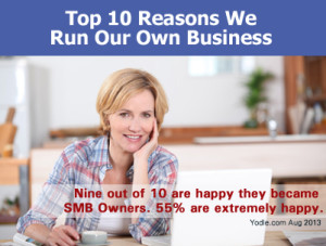 Top 10 Reasons We Run Our Own Business